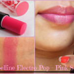 Maybelline Baby Lips Electro Pop Pink Shock Lip Balm Look