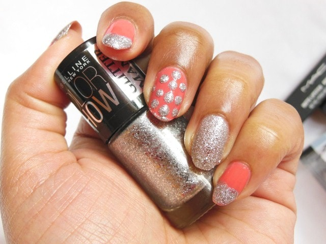 Maybelline ColorShow GlitterMania Nail Polish Dazzling Diva NOTD