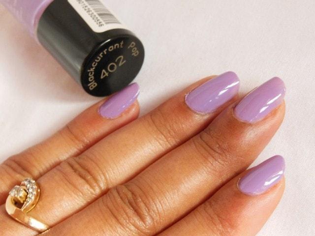 Maybelline Colorshow Nail Polish Blackcurrant Pop NOTD