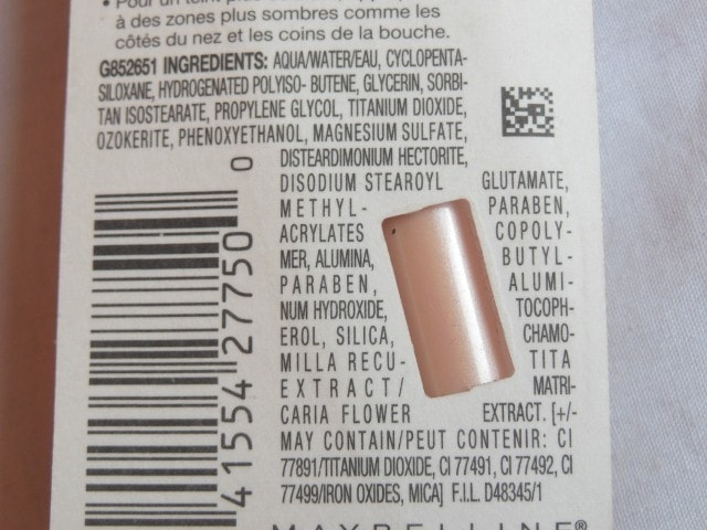 Maybelline Dream Touch Lumi Highlighting Concealer Ingredients