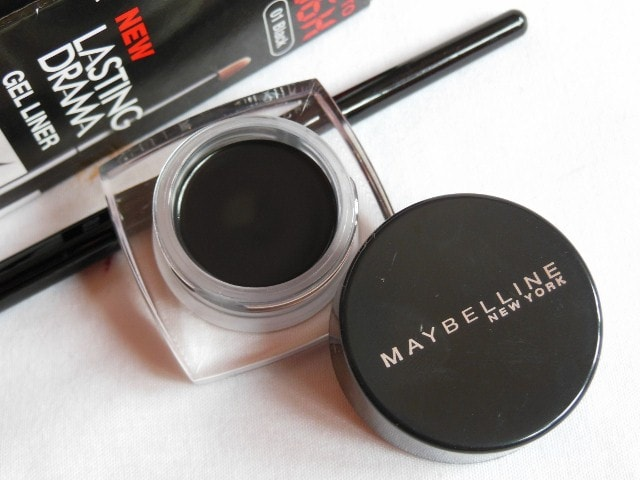 Maybelline Lasting Drama Gel  Liner Black Review