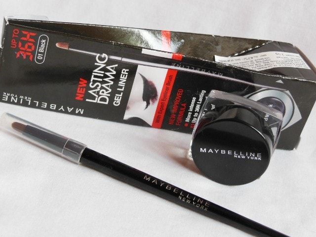 Maybelline New Improved Formula Lasting Drama Gel  Liner Black Review