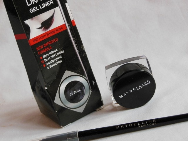 Maybelline New Improved Formula Lasting Drama Gel  Liner Black