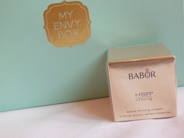 My Envy Box March 2015 - Babor Extra Firming Cream