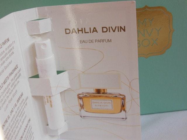 My Envy Box March 2015 - Givenchy Dahlia Divin EDP