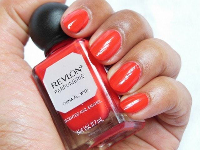 Revlon Parfumerie China Flower Nail Enamel NOTD2
