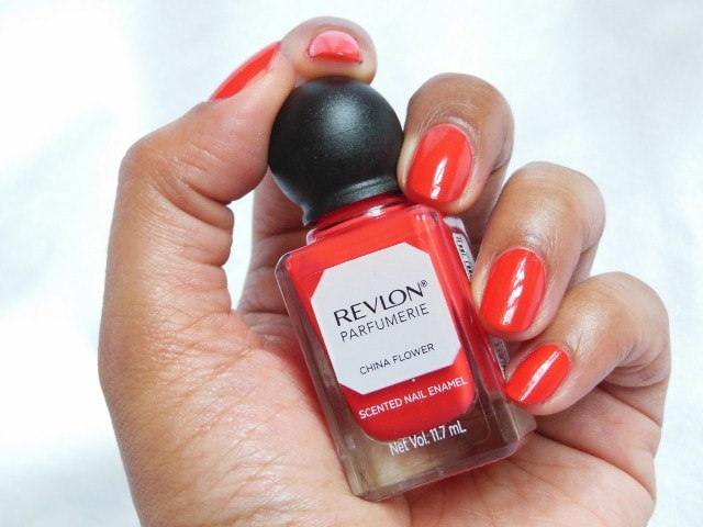 Revlon Parfumerie China Flower Nail Enamel Swatch