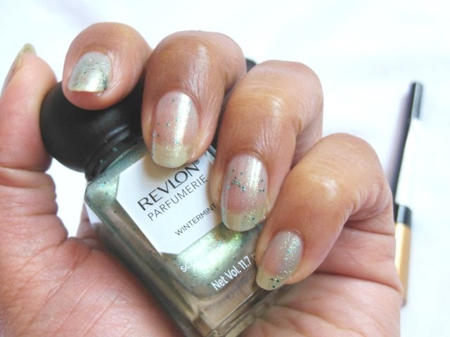 Revlon Parfumerie Scented Nail Enamel Wintermint Single Coat