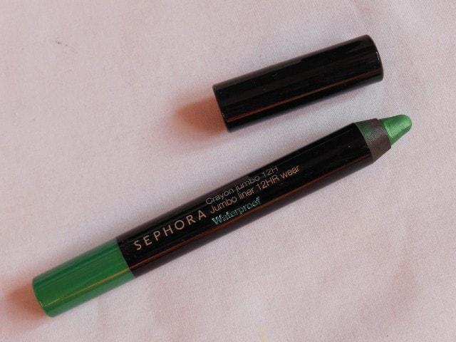Sephora Jumbo Waterproof 12Hr wear Liner in Green