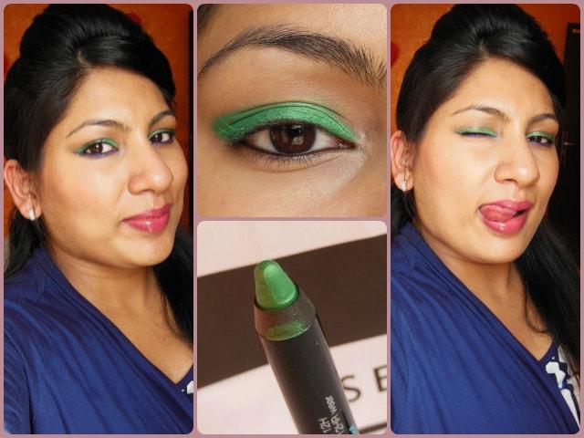Sephora Jumbo Waterproof Eye Liner Green Look