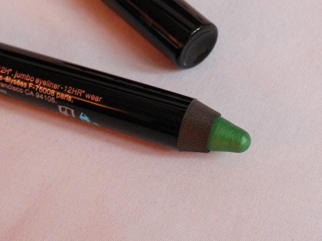 Sephora Waterproof Jumbo Liner Green Review