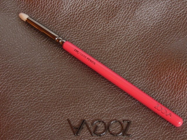 Zoeva 230 Luxe Pencil Brush Review