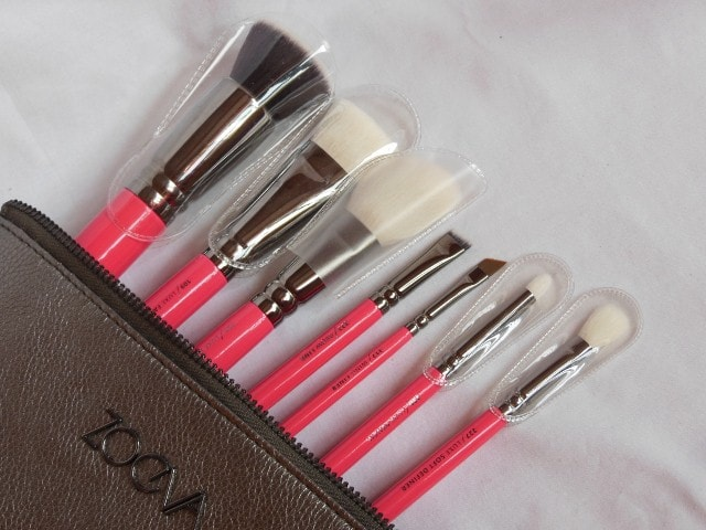 Zoeve Pink Elements Classic Brush Set Review