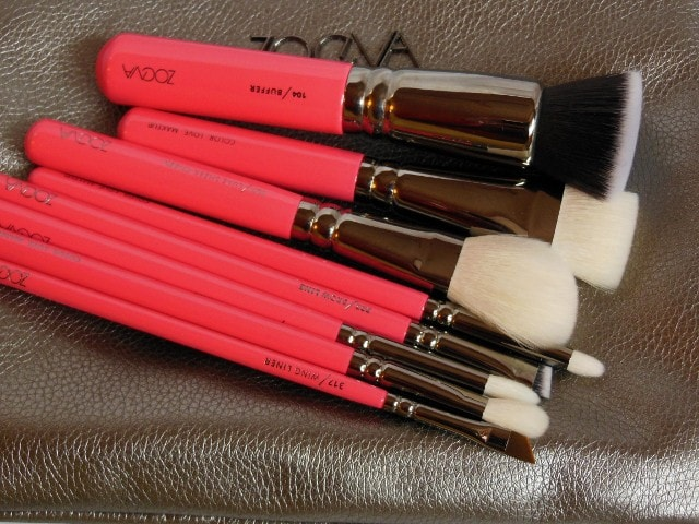 Zoeve Pink Elements Classic Brush Set