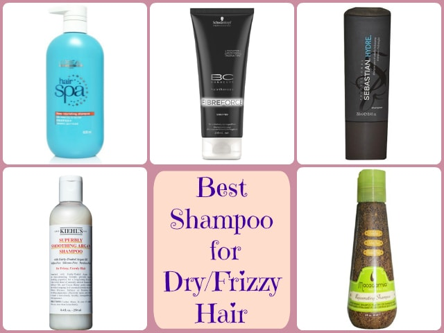 best shampoo for frizzy hair and dandruff