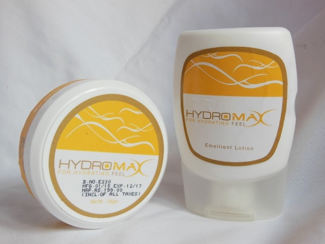 Ethicare Hydromax Moisturizer Cream and Emolient Lotion