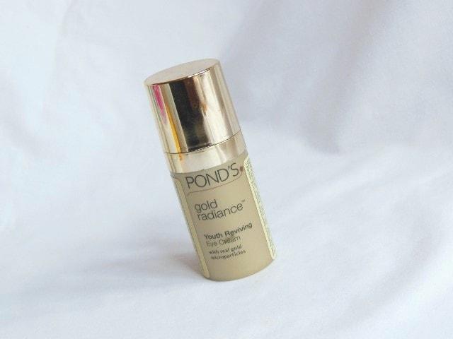Finally Finished- Ponds Gold Radiance Eye Cream