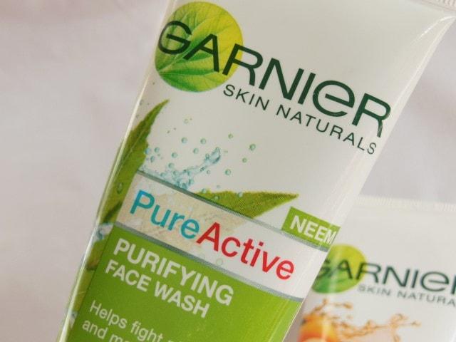 Garnier Pure Active Purifying Face Wash