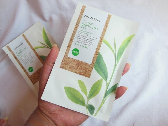 Innisfree It's Real Green Tea Mask Review