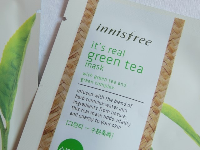 Innisfree It's Real Green Tea Mask
