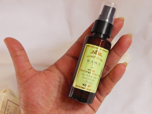 Kama Ayurveda Pure Vetiver Face and Body Mist