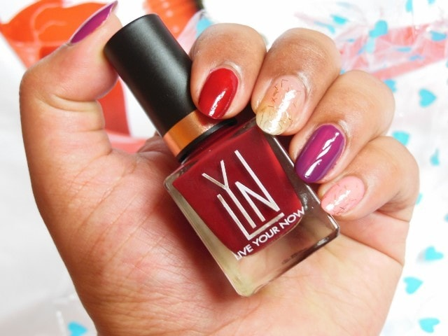 LYN Live Your Now Nail Paint - My little Red Number