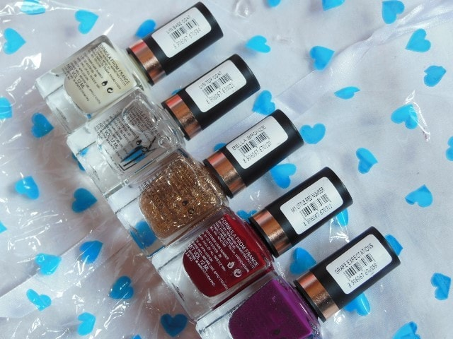 LYN Live Your Now Nail Paint Shades
