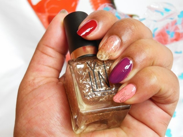 LYN Live Your Now Nail Paints Bella Bronze