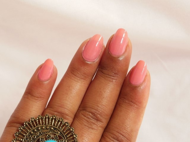 L'oreal Paris Color Riche Nail Polish Ingenuous Rose NOTD