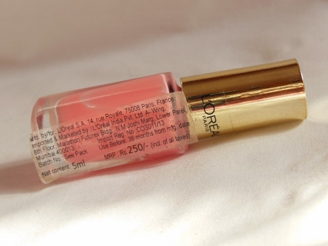 L'oreal Paris Color Riche le Vernis Ingenuous Rose Price