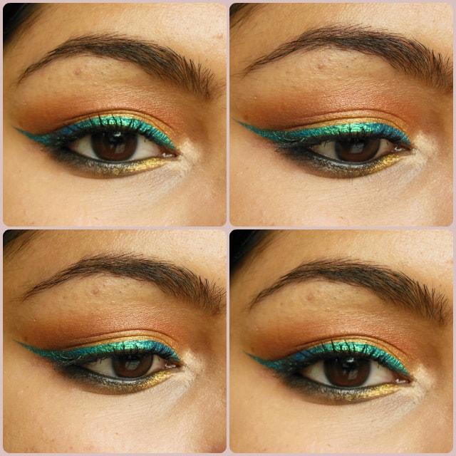 Makeup Geek Vegas Lights Eye Shadow Palette Eyes