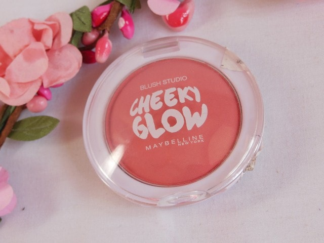 Maybelline Cheeky Glow Blush Fresh Coral Packaging