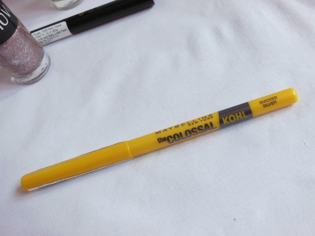 Maybelline Colossal Kohl Smoked Silver Review