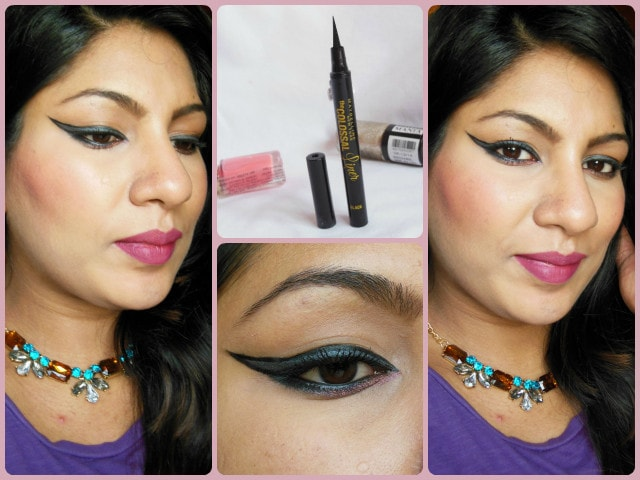 Maybelline The Colossal Liner FOTD