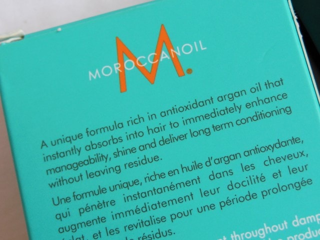 Moroccan Oil Treatment Claims