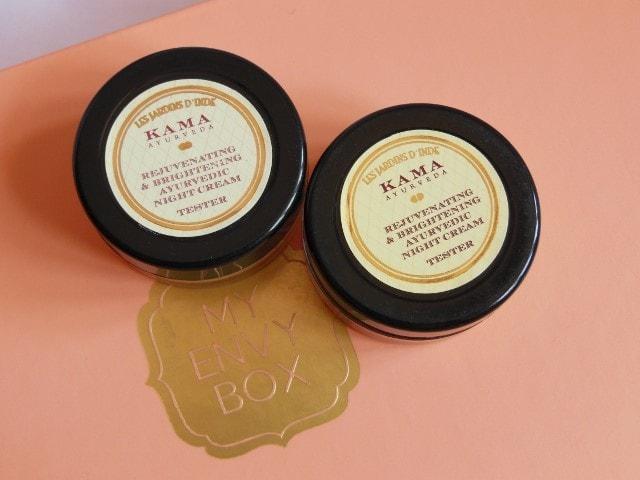 My Envy Box April 2015- Kama Ayurveda Brightening Night Cream
