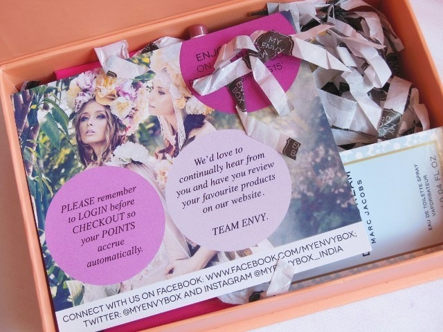 My Envy Box April 2015 Unboxing