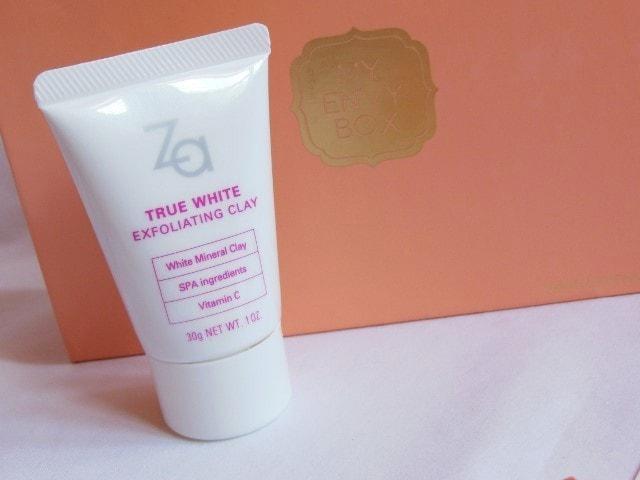 My Envy Box April 2015 - ZA True White Exfoliating Clay