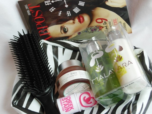 My FabBag April 2015 contents