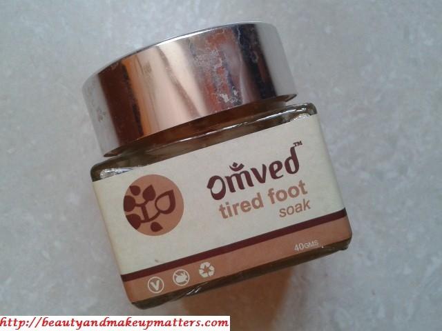 Omved Tired Foot Soak Salts