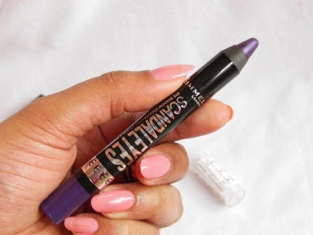 Rimmel ScandalEyes Eye Shadow Crayon Paranoid Purple