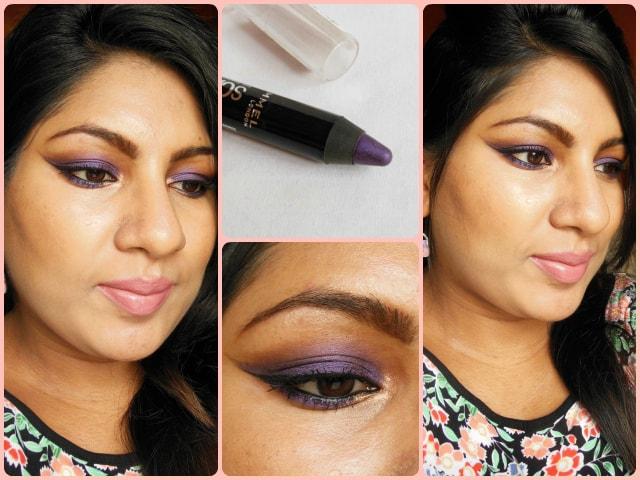 Rimmel ScandalEyes Eye Shadow Crayon Paranoid Purple FOTD
