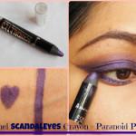 Rimmel ScandalEyes Eye Shadow Crayon Paranoid Purple Look