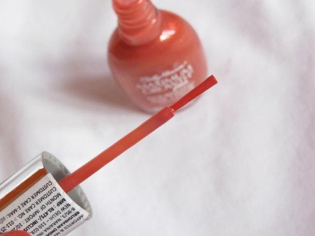 Sally Hansen Maximum Growth Nourishing Nail Color Practical Plum Brush