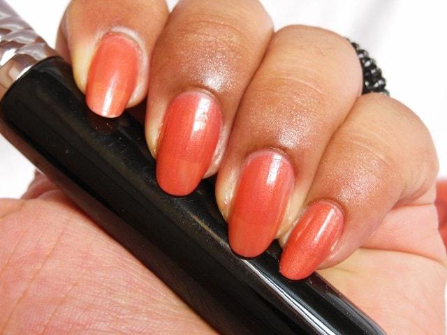 Sally Hansen Maximum Growth Nourishing Nail Color Practical Plum Nails
