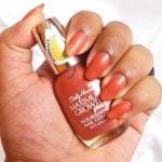 Sally Hansen Nourishing Nail Color Practical Plum NOTD