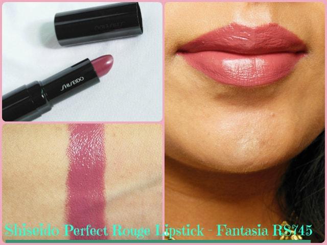 Shiseido Perfect Rouge Fantasia Lipstick  RS745 Look