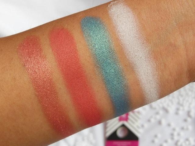 Sneak Peek -Makeup Geek Eye Shadow Swatches
