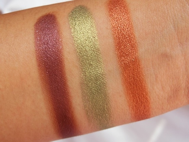 Sneak Peek- Makeup Geek Foiled Eye Shadow Collection Swatches