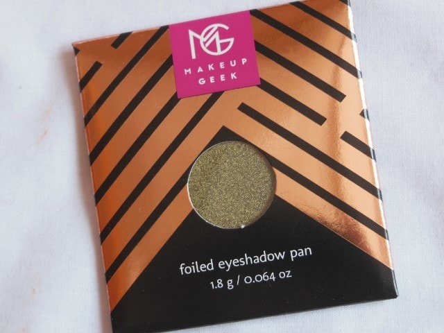 Sneak Peek- Makeup Geek Foiled Eye Shadow - Jester